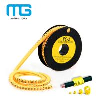 Buy cheap EC-1 Pvc Cable Marker Tube / Plastic Cable Labels / EC Type Cable Marker Cable Accessories product