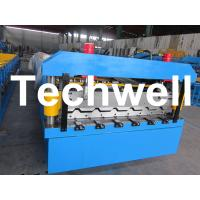 Buy quality 5.5 Kw Steel Metal Roof Roll Forming Machine With Manual, Automatical Decoiler at wholesale prices