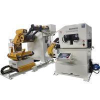 Buy cheap Sheet Metal Forming Plate Straightening Machine / Automatic Shearing Feeder product