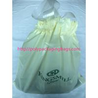 Buy cheap Recyclable Hotel Laundry Drawstring Plastic Bags With LDPE Material product