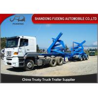 Buy cheap Tri Axles Slidable Steel Side Loader Trailer  37 Tons Payload Capacity product