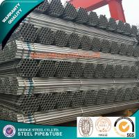 Buy cheap Q195 Hot Dipped Galvanized Mild Steel Tube For Water Delivery Construction product