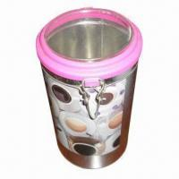 Buy cheap Candle gift box with plastic lid, recyclable product