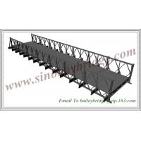 China CB200(HD200) Single Lane SS, Bailey Bridge From China,mabey bridge,steel bridge,fabricated on sale
