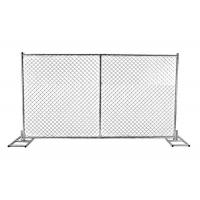 Buy cheap High quality 6ft x 12ft 6ft x 10ft galvanized temporary chain link panels for temporary tree protection product