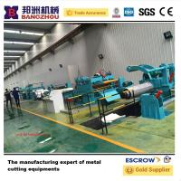 Buy quality Steel Slitting Line Machine Simple Slitting Machine for 1250mm Steel Coils at wholesale prices