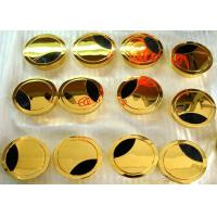 Buy cheap Die casted grommets Hardware Finishes with golden plating for cable management decoration parts product