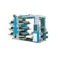 Buy cheap Low Noise 4 Color Flexo Printing Mahcine For PE / PP Plastic Woven Bags product