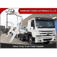 Buy cheap 40ft Side Loader Trailer Loading Capacity 40 Tons FUWA 13 Ton Axle product