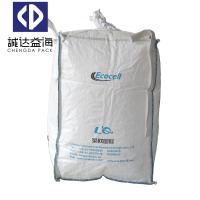 Quality Plastic Packaging Recycled Jumbo Bag Duffle Top Spout Bottom Seam Side Loops for sale