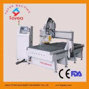 Vacuum CNC Wood machine with circyle tool magazine TYE-25H