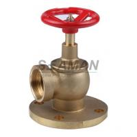 China Fire Hydrant Valve with Flange PN 16 Male 1.5 Right Angle with Female Thread - Brass on sale