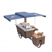 Buy cheap Electric 250Kg Load Burger Retail Food Vending Tricycles 350W product