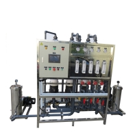 China Spring Water 3000LPH Reverse Osmosis Water Treatment Machine on sale