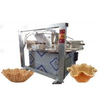 Buy cheap Commercial Waffle Bowl Maker , Ice Cream Waffle Cone Baking Machine product