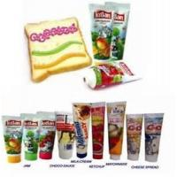 Buy cheap Offset Printing Round / Oval Flat Food Packaging Tube With Screw Cap , 5ml - 400ml product