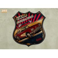 Buy cheap Resin Car Wall Decor Wooden Wall Plaques Antique Wood Frame Pub Sign Wall Decor product