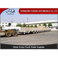 Buy cheap 100 - 250 Tons Heavy Equipment Lowboy Trailer , Multi Axles Low Bed Trailer product