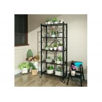 China Nice-designed Folding Household Metal Shelving for Decoration & Storage 150kg / layer on sale