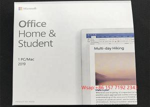 Buy cheap Dvd Pack Microsoft Home And Student Compute 2019 Office 2019 Pro Plus product