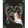 """Buy quality Rili 16""""*20"""" Loving Girl Black Velvet Coloring Poster at wholesale prices"""