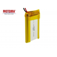 Buy cheap Lithium Motoma Batteries Deep Cycle PVC Jacket For Beauty Apparatus product