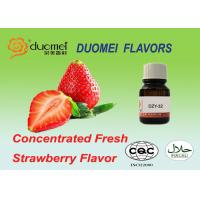 Buy cheap Water Soluble Concentrated Strawberry Food Flavouring Liquid GB 30616-2014 product
