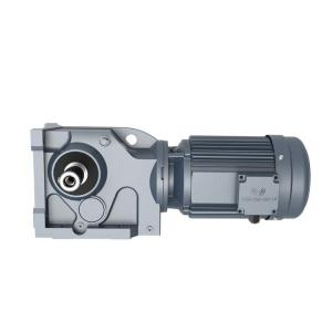 Buy cheap High Torque 200Nm Bevel Gear Reducer Helical Motor Gearbox Key Shaft Output product