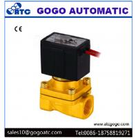 China Two Way 1/4 Inch Port 2 Way Solenoid Valves High Temperature Wire Lead SMC Type on sale