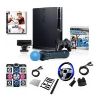 China sony ps3 video game consoles 320gb with move on sale