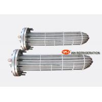 Buy cheap Stainless Steel 316L Water Cooled Evaporator , High Temperature Heat Exchanger product
