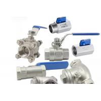 Buy cheap Threaded Female One Piece Stainless Steel Valves For Hydraulic Engineering from wholesalers