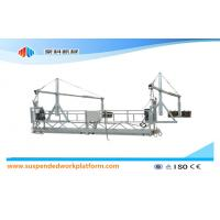 Hot Galvanized Suspended Working Platform ZLP630 for High rise Building Construction
