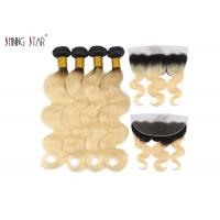Buy cheap 613 Ombre Blonde Body Wave Hair Extensions Honey Blonde Bundle 2 Tone from wholesalers
