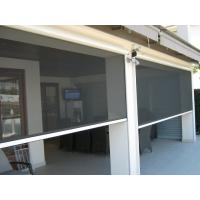 Buy cheap Decorative outside usage Motorized automatic roller screen for porch product