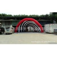 Casual Celebration Lighting Giant Inflatable Party Tent Red , Inflatable Yard Tent Factory