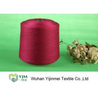 Buy cheap High Tenacity Ring Spun Bright Virgin Dyed Polyester Yarn 100% Polyester Color Dyeing product