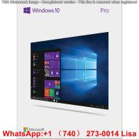 Buy cheap Microsoft Windows Product Key Windows 10 Pro Retail Box 2 GB RAM 64 Bit 1 GHz Code Number 03307 product