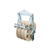 Buy cheap Galvanized Transmission Conductor Stringing Block Pulley from wholesalers