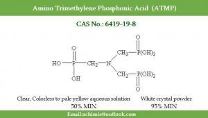 Buy cheap Water treatment agent CAS No. 6419-19-8 N(CH2PO3H2)3 Amino Trimethylene Phosphonic Acid ATMP product