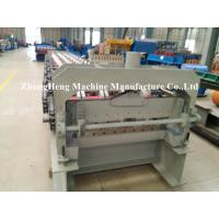 Buy cheap CNC / PLC Control Floor Deck Roll Forming Machine With 6 High Waves 3ph from wholesalers