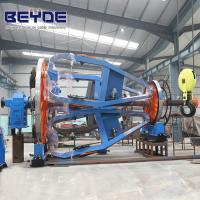 Buy cheap Cable Manufacturing Equipment Assemble Holder , Big Bearing Laying Up Machine product