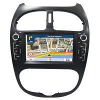 Buy cheap Car Stereo Installation Kits Peugeot Navigation System , Peugeot 206 Android Car Radio With Bluetooth And Gps product