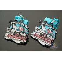 Buy cheap Great Cow Runsports Award Medals Soft Enamel And Glitter Colors With Ribbon from wholesalers