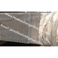 Buy cheap Single Row Finned Aluminum Tubing Height 20mm x 1mm Thickness from wholesalers