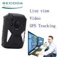 Buy cheap Security Guard Wireless 4G Body Camera Live View 1440P Weatherproof For  Police product