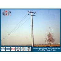 Buy cheap Waterproof Galvanised Steel Pole For Electrical Power Transmission And from wholesalers