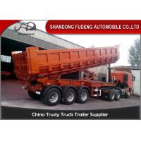 Buy cheap Large Volume Rocker Transport Dump Tractor Trailer 40M3 With Hyva Hydraulic Cyclinder product