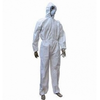 Buy cheap Hospital Doctor Safety Ppe Disposable Medical Protection Suit With Hood from wholesalers