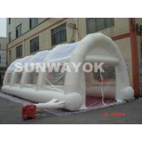 White Large Inflatable Tent With Waterproof Double Stitching PVC Material